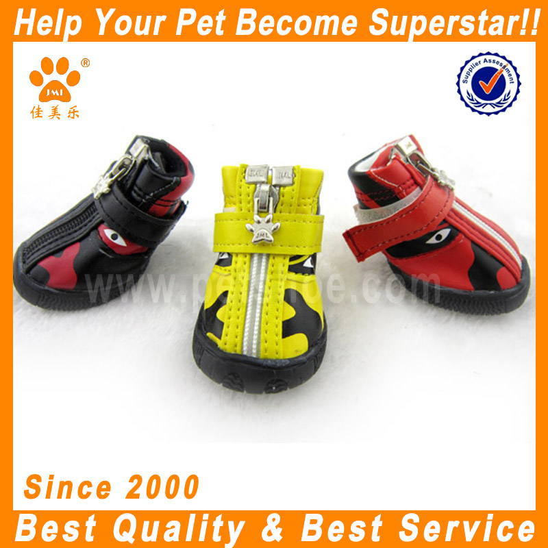 JML high quality fashion PU pet shoes dog walking shoes