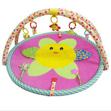 High quality plush baby non-toxic baby play gym mat