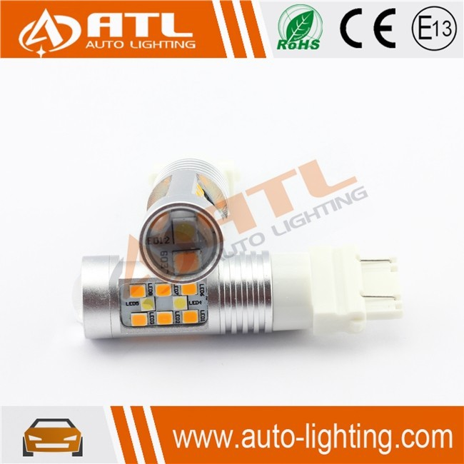 ATL High quality 3156,3157 30w canbus amber car led strobe with e mark