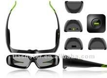 Wireless Active Shutter 3D glasses for pc