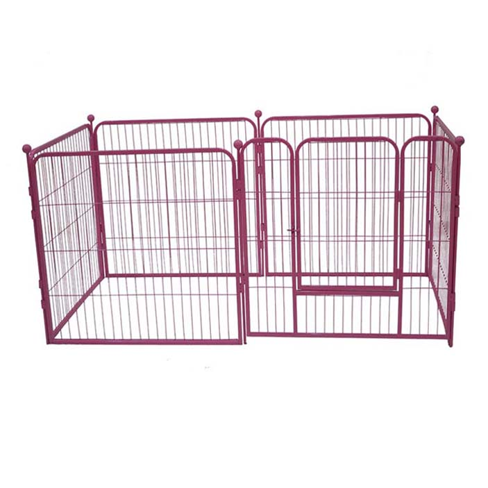 China Large square metal aluminum dog exercise pen dog play pen