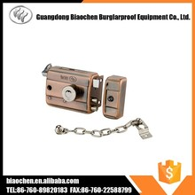 Factory Price Night Latch Traditional Rim Locks with chain