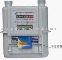 smart gas meter with IC card