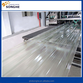 120Trailer / Coach Outer Skin Material GRP / FRP, Wall FRP Panel, FRP Sheet Making Machine by Songhe 87