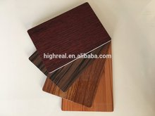 Best price of fireproof aluminum composite sheet brick panels with high quality