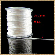 white braided fly line from china factory
