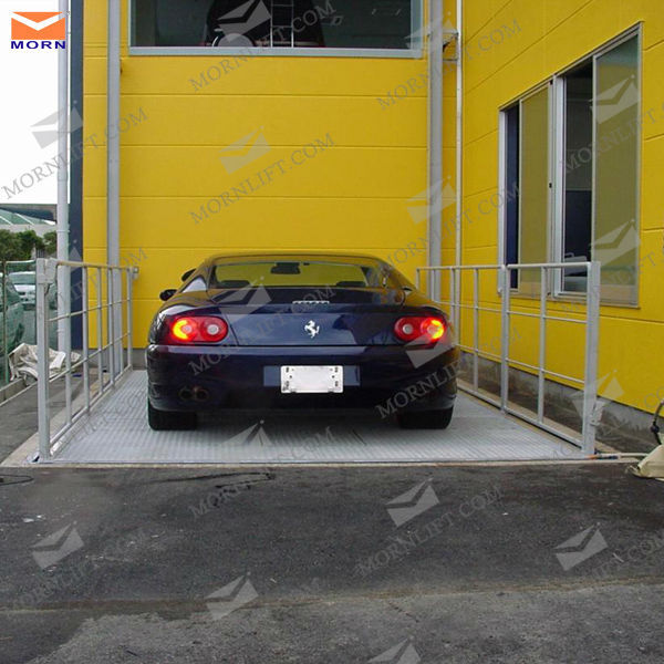 4.5m outdoor hydraulic car small elevator lift