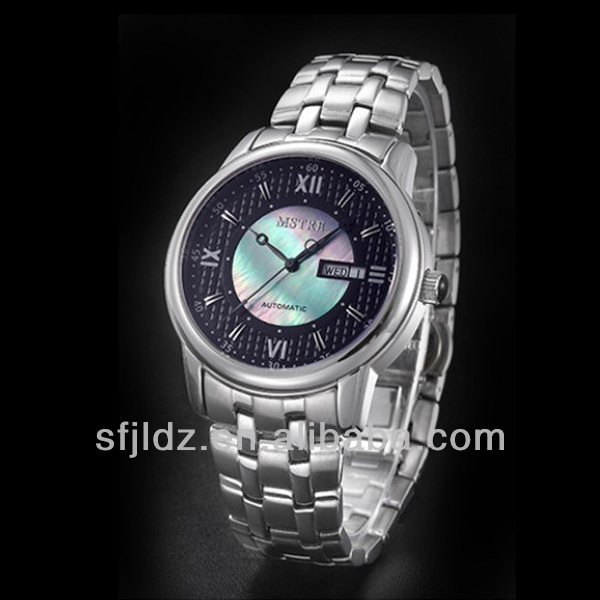 Chinese famous Brand Chronograph stainless steel band Top 10 Imports watch OEM