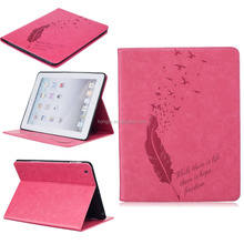 Fashion Feather Style Transformers Stand Design Magnetic Leather Case for ipad 2 3 4 Smart Cover Smartcover for iPad 4