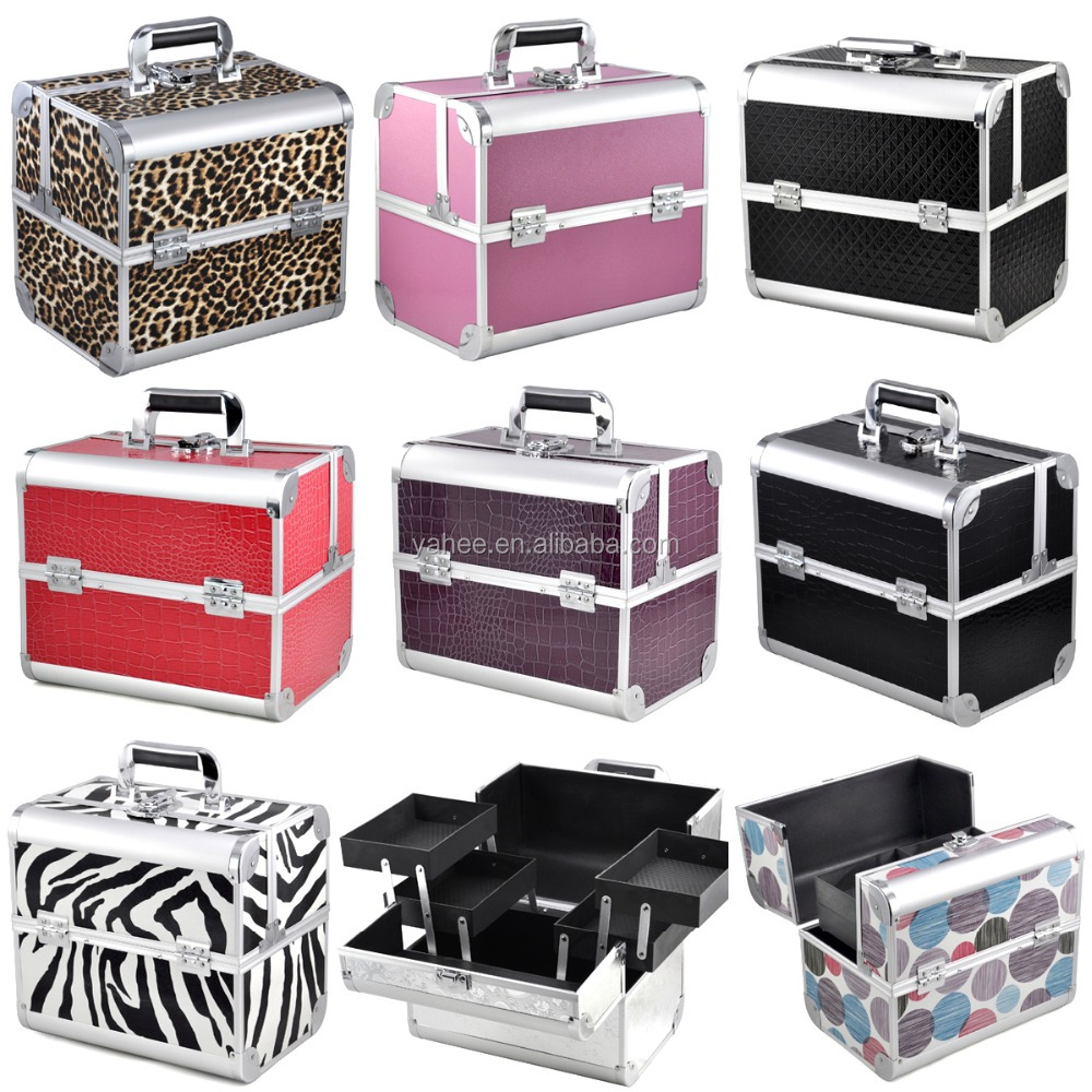 Wonderful Aluminium makeup Vanity Case Box With Lock