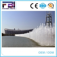 New fashion musical dancing chinese fountains built in the lake or river