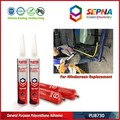 Paintable and Primerless Auto Glass Automotive Adhesive