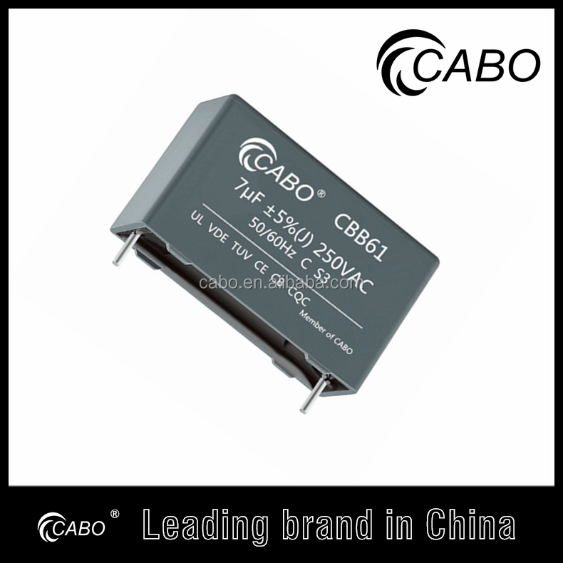 CABO brand CBB61 run start capacitor ac lowes motor capacitor,10 years warranty