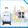 Hard case luggage trolly bags stock