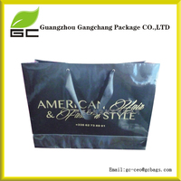 Cute Custom Printed Raw Materials Of Luxury Reusable Shopping Brown Kraft Paper Gift Bag