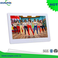 10 Inch TFT LCD Wide Screen Digital Photo Display Frame with Calendar Support Tf Sd /Usb Flash Drives