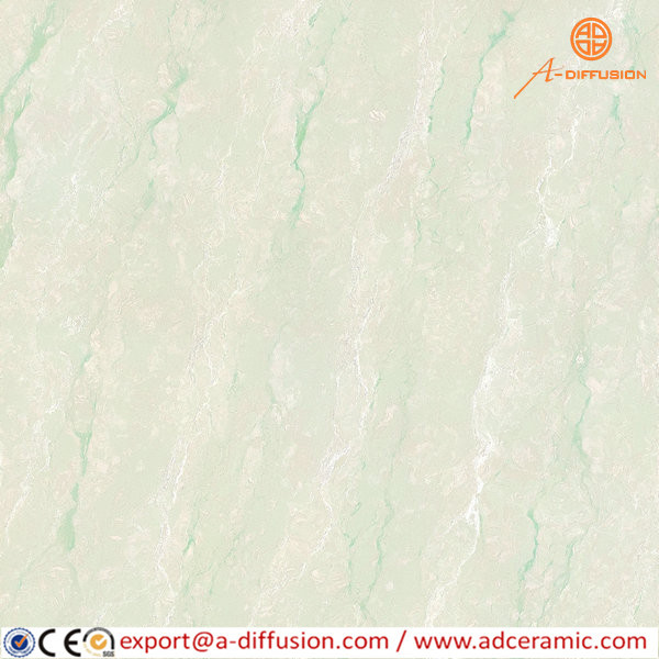 nature stone series polised green color ceramics tiles,cheap floor tiles 600*600mm
