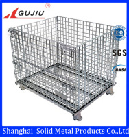 storge equipment rolling metal storage cage