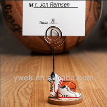 Basketball Themed Place Card Holderwedding favors and gifts