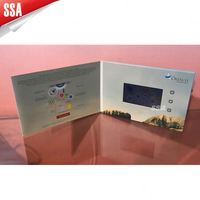 Lcd Video Player Brochure With Print