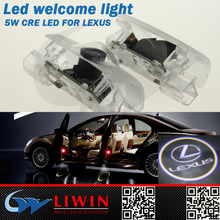 50% discount led door courtesy light with car logo for LEXUS auto