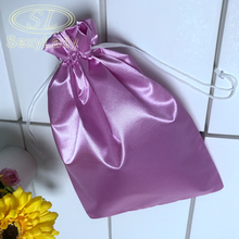 hair extension 100 silk drawstring hanger bags
