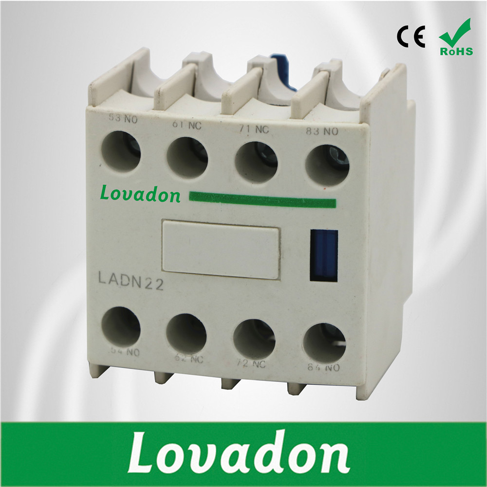 LADN22 220V Electric AC Magnetic coil Contactor Block