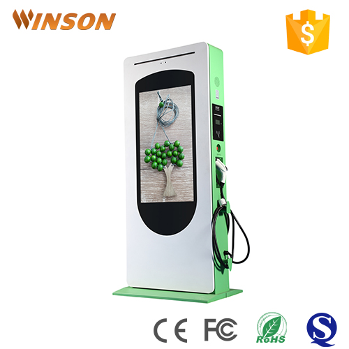 Outdoor full hd internet ad equipment digital advertising machine for public