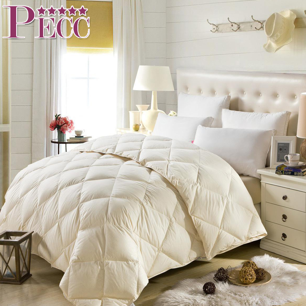 Natural Cheap Price 100% Cotton Proof Shell Down Duck Comforter