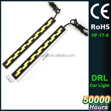 2pcs Car LED Daytime Running Lights Auto LED COB DRL Day Light LEDs Lamps for Cars 12v Car-styling Daylight