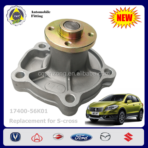 Factory Direct Auto Parts Water Pump for Suzuki Ciaz New Vitara 1.6L SX4 Swift OEM 17400-56K01