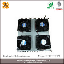 Aluminum Finned Tube cooled combined oil cooler