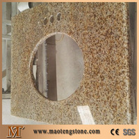 Prefab Granite Rusty Yellow G682 Molded