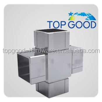 steel square tube connectors 50mm square tube joint