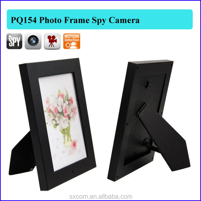 spy Photo frame camera hidden Photo Picture Frame Camera Mini DV DVR Camcorders Audio 640 x 480 Video Recorder PQ154