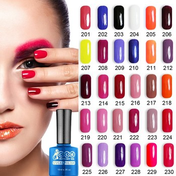 Fei Fan Beauty Color Gel Polish With Inail Rose Bottle for wholesale Soak off Free Polish