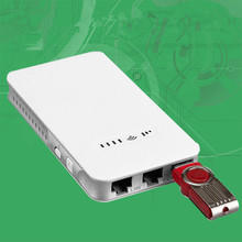 Pocket Portable Wireless Mini 3G WiFi Router with SIM Card Slot