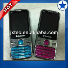 Quad band dual sim card mobile phone Q9+ with TV