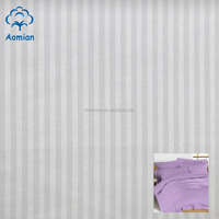 wholesale cheap t/c stripe satin fabric