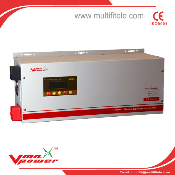 solar inverter 5000W pure sine wave power inverter with charger
