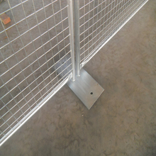 2017 Powder Coated Hot Dipped Galvanized Temporary Fence / Removable Fence