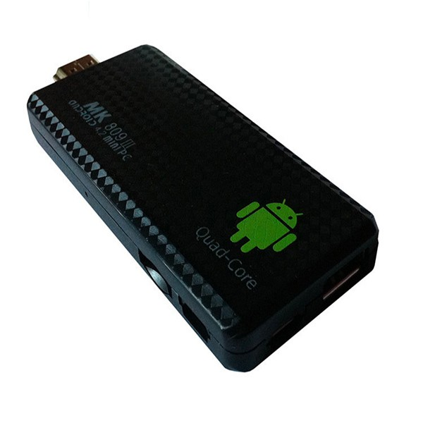 1Chip Quad Core RK3229 ARM mk809iii Android 4.4 quad core tv stick box mini pc