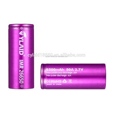 hot selling for 36v electric bike battery Cylaid 26650 5200mah 50a li ion Rechargeable Batteries