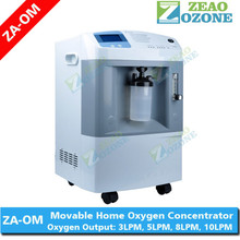 Portable oxygen concentrator machine 10 lpm home medical oxygenator price