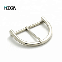Factory price high quality hardware accessories silver strap buckle custom press clip pin metal belt buckle for men