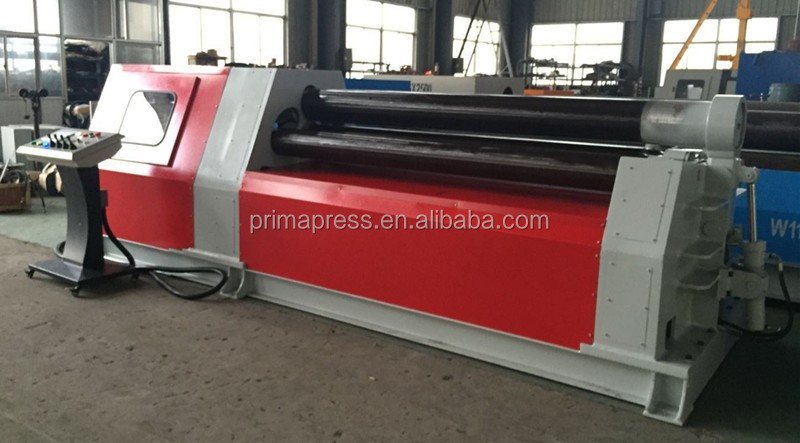 Top quality <strong>W12</strong> CNC 4 <strong>rolls</strong> thick plate rollig <strong>machine</strong> from China