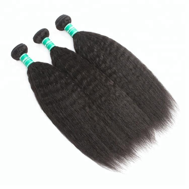 Kinky Straight Hair Big Sale 20 Inch Human Hair Weave Extension Cheap Weave Hair Online