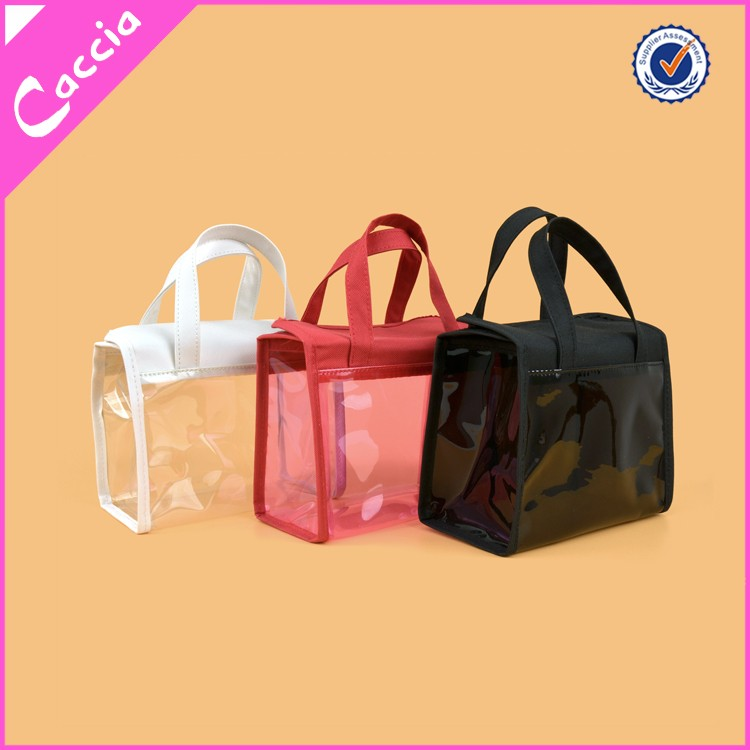 PVC Clear Transparent Plastic Cosmetic Make Up Travel Toiletry Bag