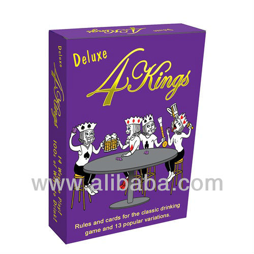 Deluxe 4 Kings Card Game