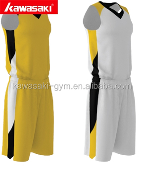 Good quality customized design your logo and pattern reversible dry-fit mesh yellow and blank basketball shorts jerseys